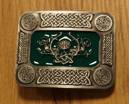 """Buckle / gesp  """" Keltische motief """""""
