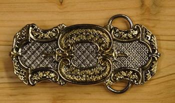 """Celtic belt buckle  """" Thistle decoration """""""