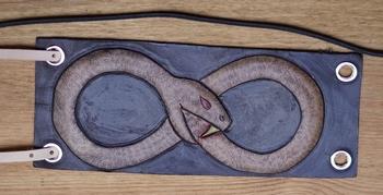 "Armband  "" Celtic snake """