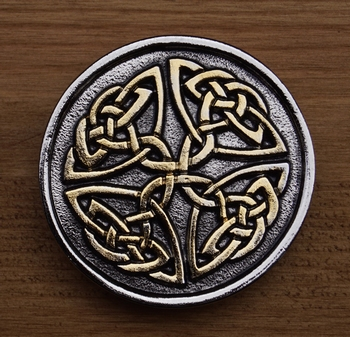 """Buckle  """" Two celtic knot """""""
