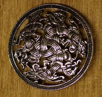 """Broche  """" Keltische paarden """""""