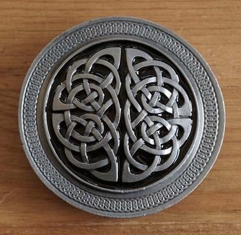 "Buckle / gesp  "" Two celtic knots """