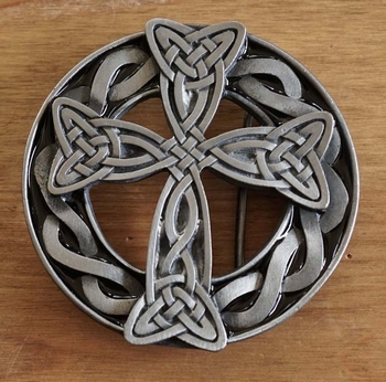 "Buckle / gesp  "" Celtic cross """