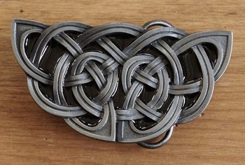 "Buckle / gesp  "" Celtic knot  """