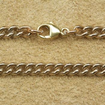 """Bronze ketting  """" 45 cm lang, 3 mm dikte """""""