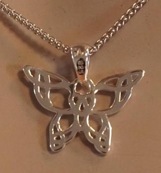 """Hanger  """" Celtic butterfly  """""""