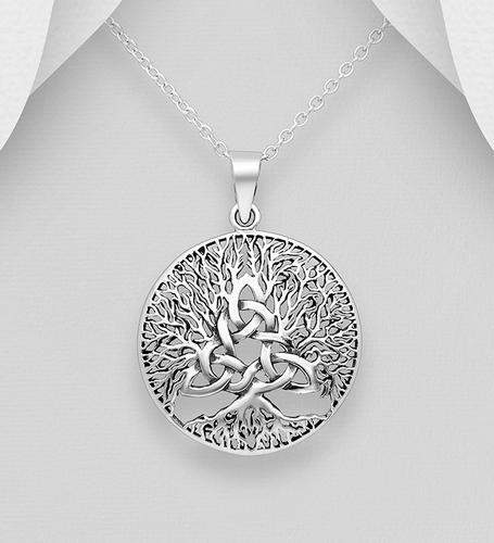 """Hanger """" Levensboom met keltische knoop """""""