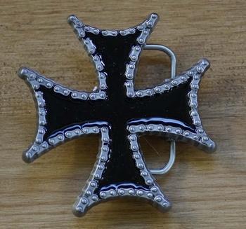 """Buckle / gesp """" Maltezer kruis met ketting"""