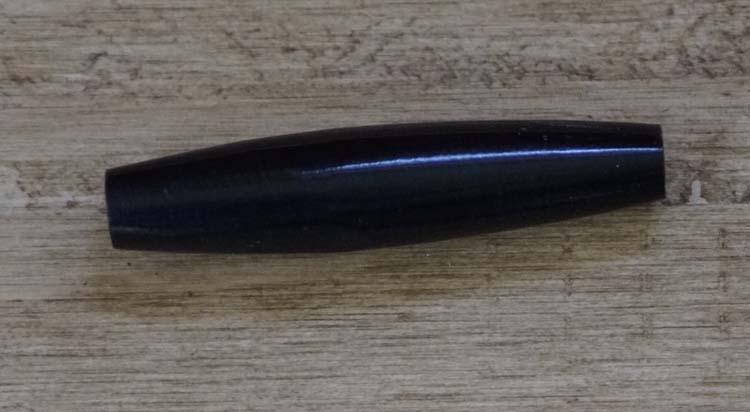 """Beentje  """" 4 cm """"  Zwart"""