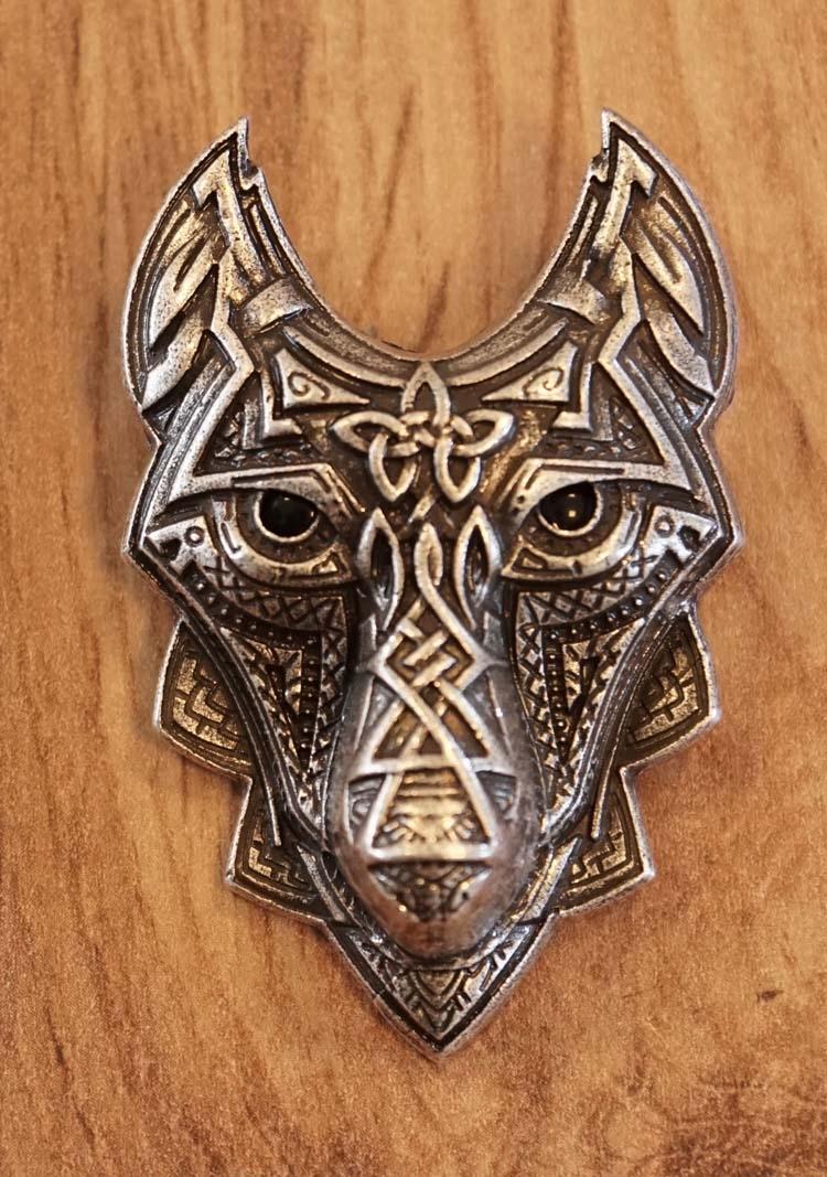 """Broche  """" Keltische wolf """""""