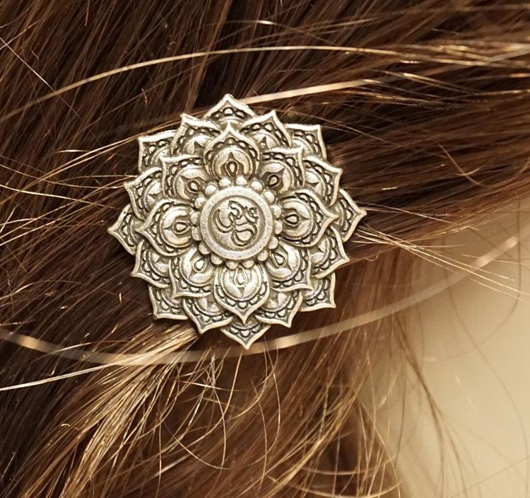 """Haarclip  """" Viking lotusbloem """""""