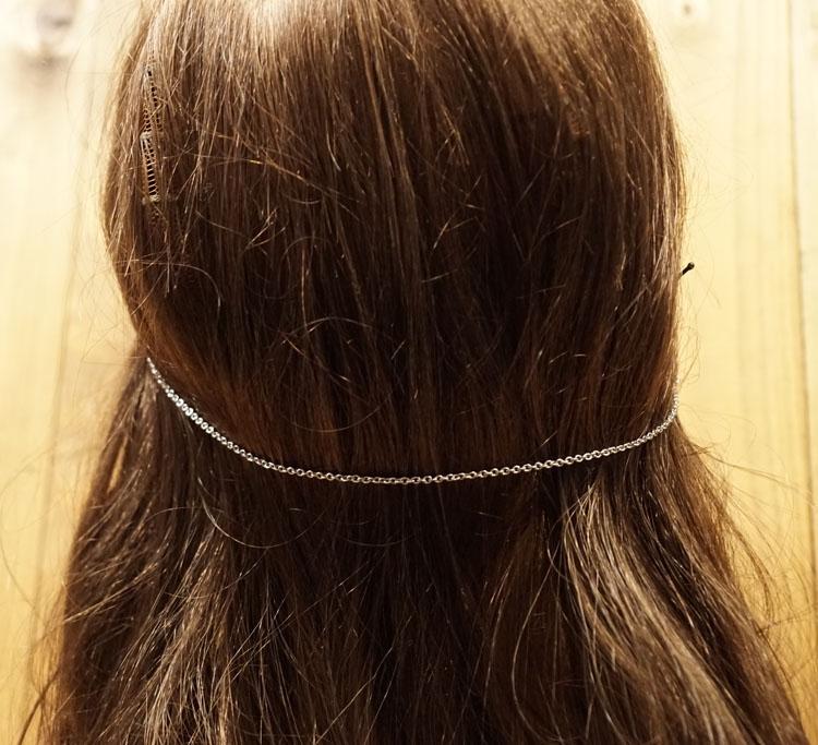 """Haarschuifjes met ketting  """" Celtic knot """""""