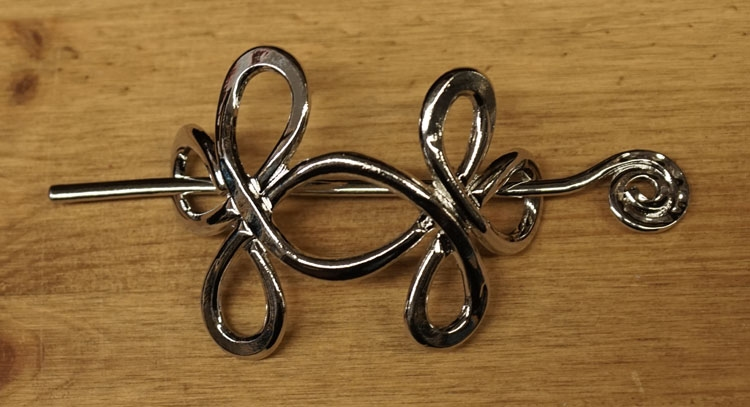 """Haarspeld  """" Keltisch knoop """""""