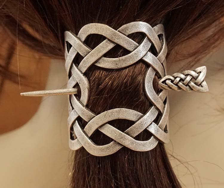 """Haarspeld  """" Oneindige keltische knoop """""""