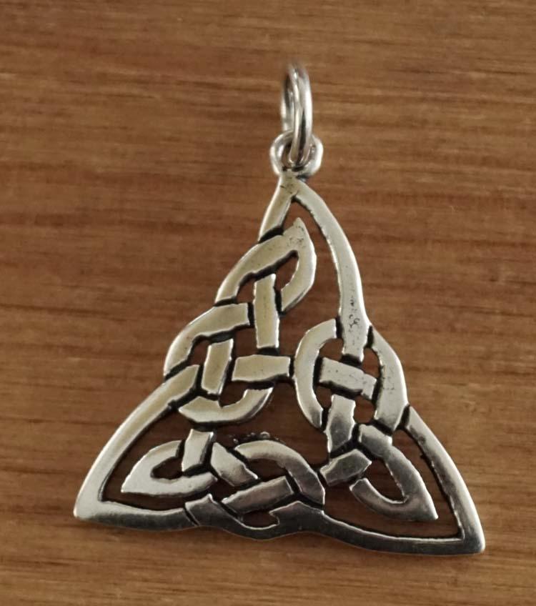 """Hanger  """" Keltische knoop triangel """""""