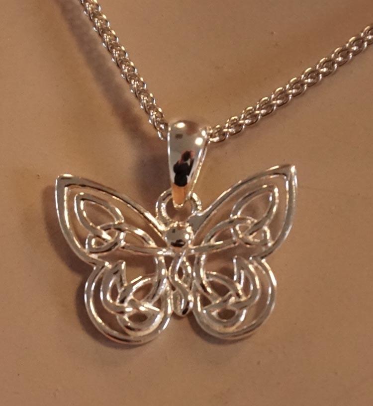 "Hanger  "" Keltische vlinder """