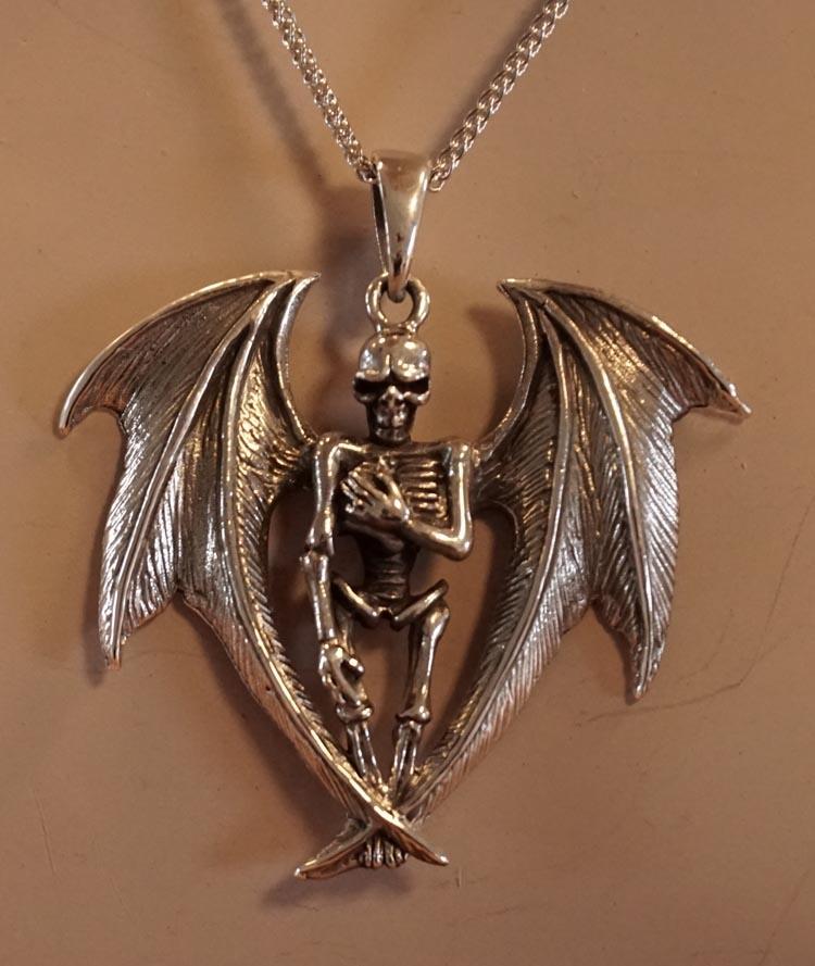 """Hanger  """" Vleermuis skelet """""""