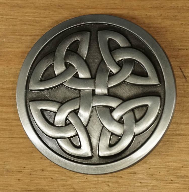 """Keltische buckle / gesp  """" 2 celtic knopen  """""""