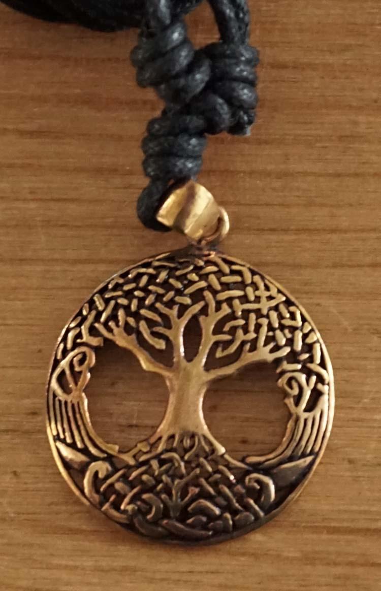"""Ketting  """" Bronzen levensboom """""""