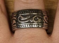 """Ring """" Keltisch sierwerk """""""