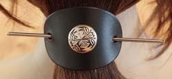 Haarspelden concho's / studs