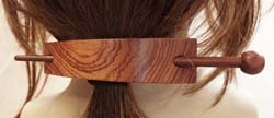 Haarspelden hout