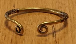 Koperen armbanden